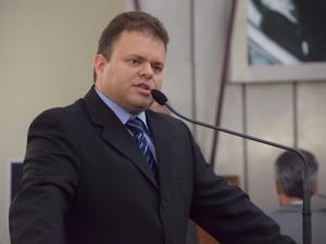 Léo Ramalho assume cargo de deptado na ALE por 121 dias  (Foto: Arquivo / Dicom ALE)
