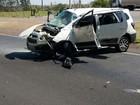 Capotamento em rodovia mata idosa e deixa passageiro em estado grave