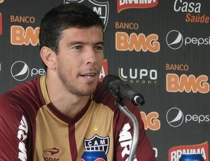 Leandro Donizete atlético-mg (Foto: Fernando Martins/Globoesporte.com)