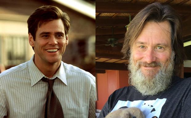 Antes e Depois - O Mentiroso (Foto: Divulgao)