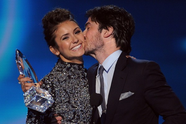 Nina Dobrev e Ian Somerhalder (Foto: Getty Images)