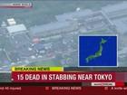 Homem armado com faca invade clínica e mata 19 no Japão