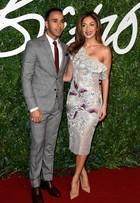 Lewis Hamilton e Nicole Scherzinger roubam a cena em tapete vermelho