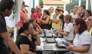 PITV nos Bairros facilita o acesso aos serviços essenciais para a comunidade carente  (Foto: Katylenin França/TV Clube)