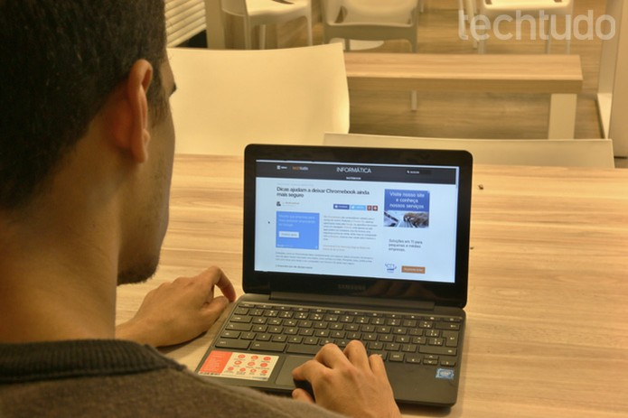 Chromebook 3 (Foto: Isabela Giantomaso/TechTudo)