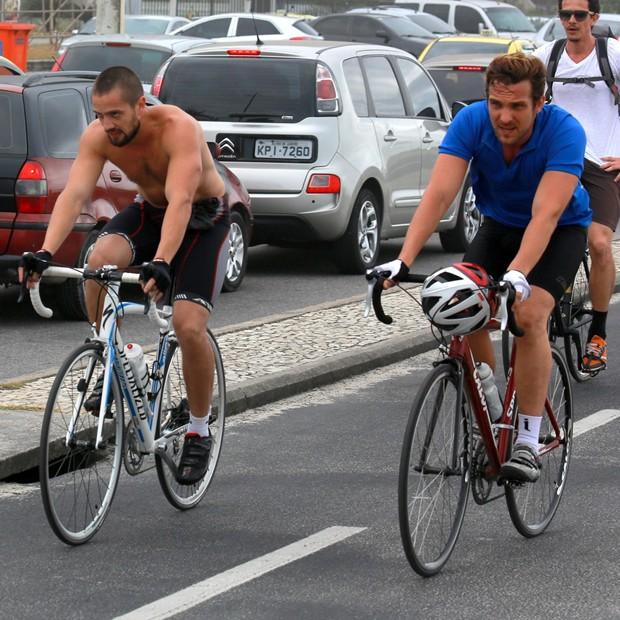 Rafael Cardoso e Rafael Losso (Foto: Dilson Silva / AgNews)