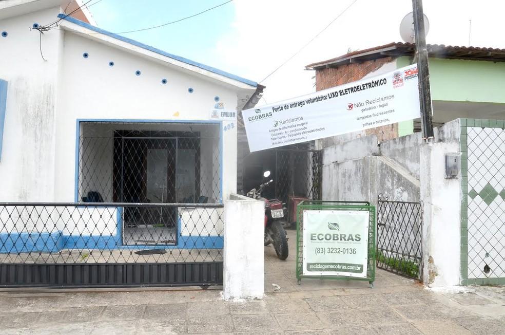 João Pessoa tem mais três pontos de coleta de lixo eltrônico (Foto: Carlos Nunes/Emlur)