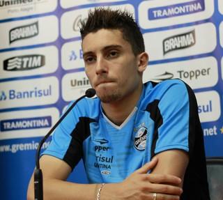 Alex Telles, lateral-esquerdo do Grêmio (Foto: Diego Guichard)