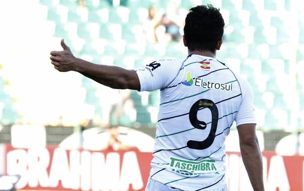 Aloisio, do Figueirense (Foto: Luiz Henrique, divulgação / FFC)