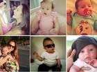 Neymarzinho e 'Baby' Gaga: Filhos das coleguinhas mostram estilo em fotos