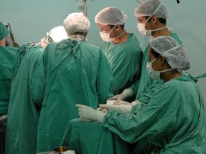Transplante de fígado  (Foto: UFC/Divulgação)
