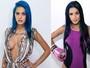 Tati Zaqui muda o visual: cabelo bicolor e preenchimento nos lábios