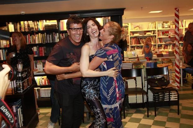 Evandro Mesquita, Fernanda Torres e Andréa Beltrão (Foto: Isac Luz / EGO)