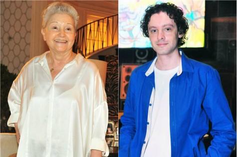 Maria Adelaide Amaral e Vincent Villari (Foto: TV Globo)
