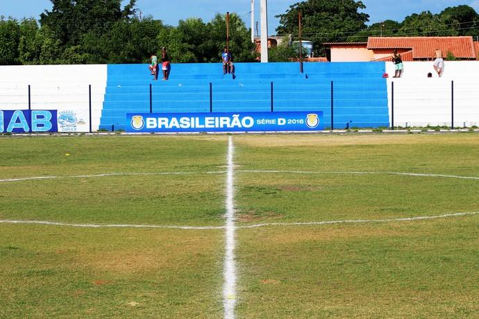 Estádio Pedro Alelaf, Parnaíba  (Foto: Wenner Tito )