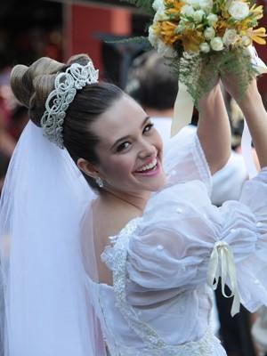 Fatinha noiva  (Foto: Malhação / TV Globo)