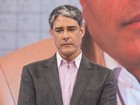 Morre pai de William Bonner e ele se ausenta do 'Jornal Nacional'
