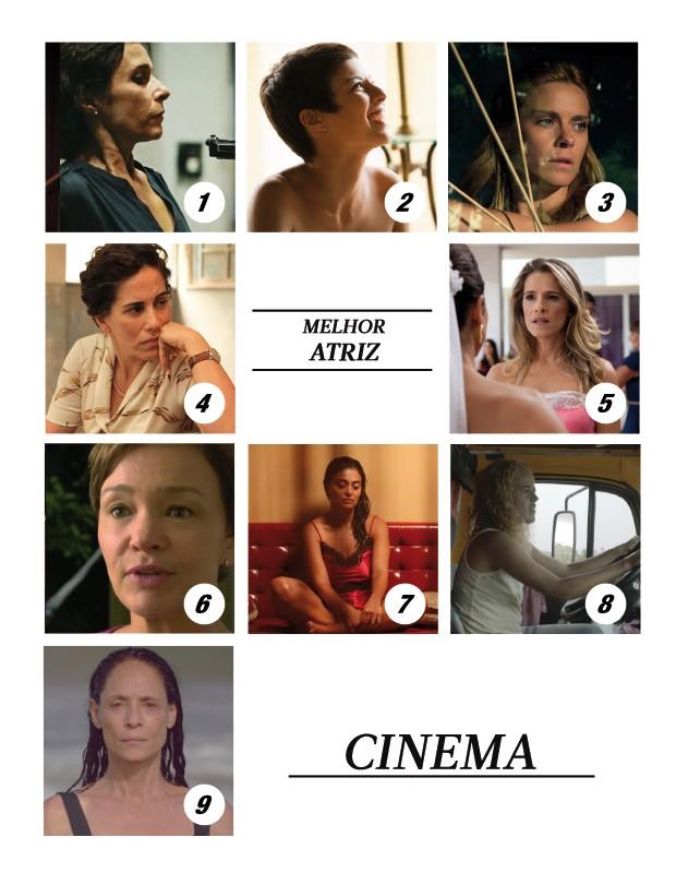 Melhor atriz de Cinema 2016 (Foto: .)