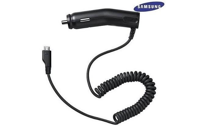 Carregador veicular da Samsung (Foto: Divulgação/Samsung} (Foto: Carregador veicular da Samsung (Foto: Divulgação/Samsung})