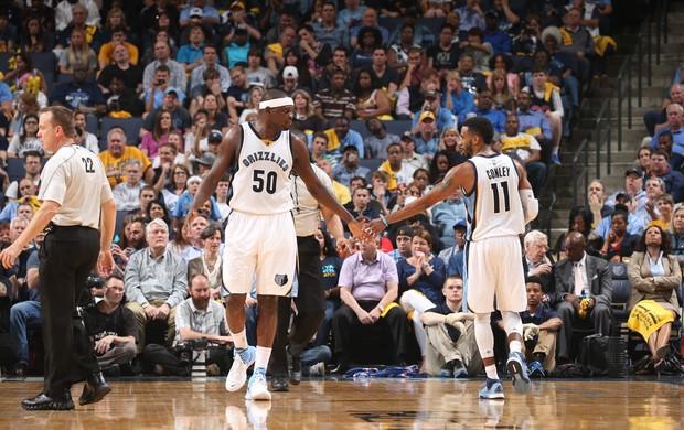 Zach Randolph Mike Conley Memphis Grizzlies Portland NBA