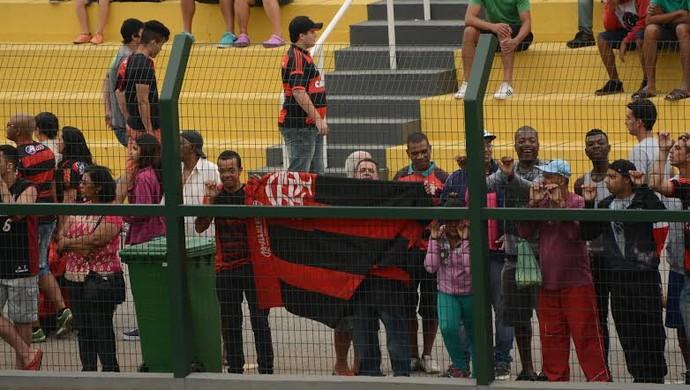 Flamengo x RB Brasil; Copinha (Foto: Nicholas Modesto)