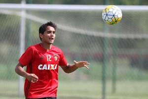 Everton Felipe Sport (Foto: Aldo Carneiro/Pernambuco Press)