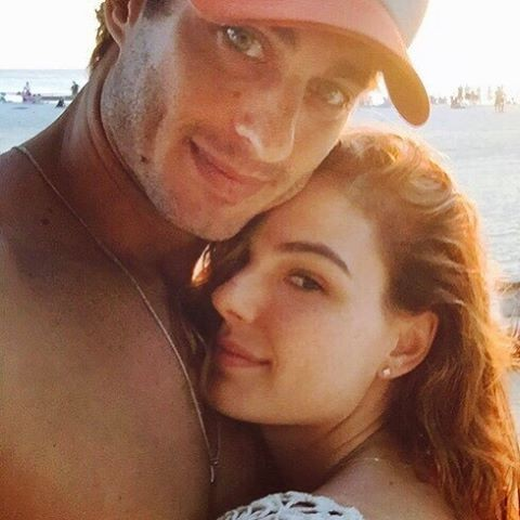 Isis Valverde com o namorado, Andre Resende (Foto: Reprodução/Instagram)