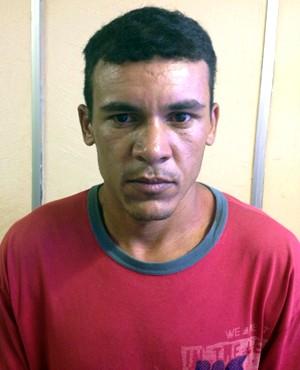Antônio Gilmário Costa, de 29 anos, foi preso na zona rural de Portalegre e confessou o crime (Foto: Divulgação/Polícia Civil do RN)