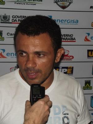 Josivaldo Alves, presidente do CSP (Foto: Silas Batista / Globoesporte.com/pb)