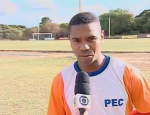 maranhão, atacante do Piauí para Copa Piauí (Foto: Reprodução/TV Clube)