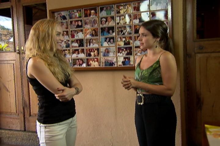 Angélica; Monique Alfradique (Foto: Estrelas/TV Globo)