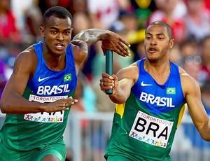 Atletismo; Brasil; revezamento 4x100m; Jogos Pan-Americanos (Foto: Cbat/Divulgação)