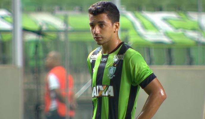 Renan Oliveira; América-MG (Foto: Reprodução/ Premiere)