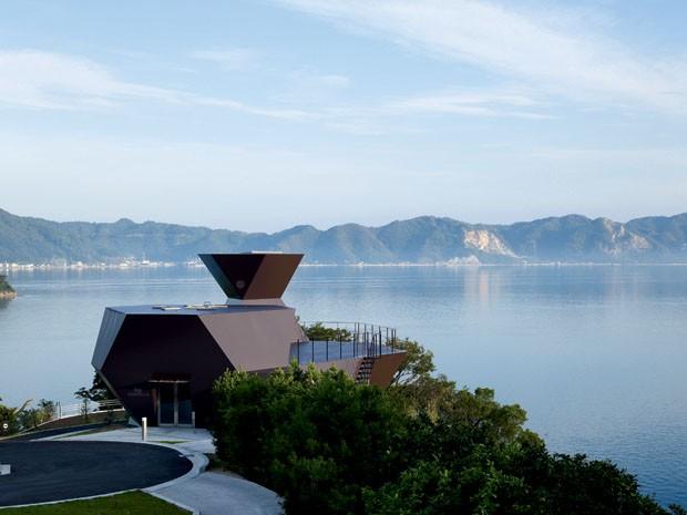 Toyo Ito Museum of Architecture (2011), na ilha japonesa de Omishima (Foto: Daici Ano)
