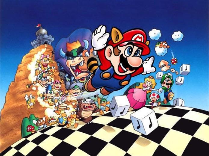 Era tudo de mentirinha. Todo o perigo de Super Mario Bros 3 acabou (Foto: Divulgação/Nintendo)