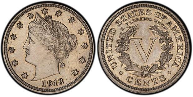 Moeda de cinco centavos de dólar de 1913 deve atingir pelo menos os US$ 2,5 milhões  (Foto: AP)
