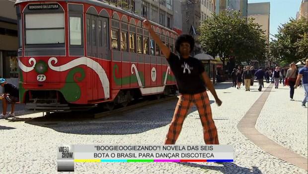 Boogie Oogie-se rodou o Brasil e mostrou que a dança dos anos 1970 ainda está aqui (Foto: Reprodução)