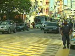 Guarda Municipal trânsito Barra Mansa (Foto: Reprodução/TV Rio Sul)