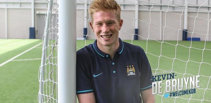 De Bruyne no Manchester City (Foto: Reprodução / Manchester City)