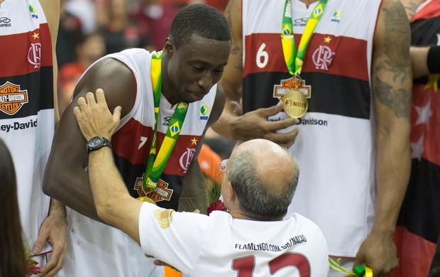 Basquete NBB Flamengo Campeão Bandeira de Mello Kojo (Foto: Celso Pupo/Agência Estado)
