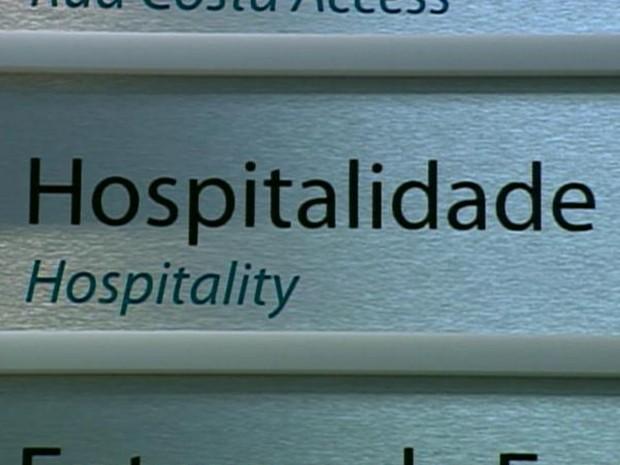 Hospitais de Porto Alegre capacitam funcionários para receber pacientes estrangeiros (Foto: Reprodução/RBS TV)