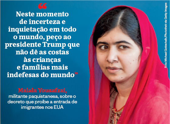 Frases que resumem a semana | Malala Yousafzai (Foto: Michael Gottschalk/Photothek via Getty Images)