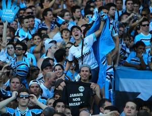 grêmio olímpico torcida (Foto: Lucas Uebel/Grêmio FBPA)