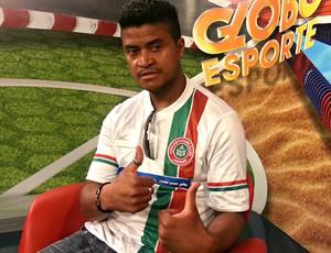 Adriano Gabiru, contratação do Conilon (Foto: Richard Pinheiro/Globoesporte.com)