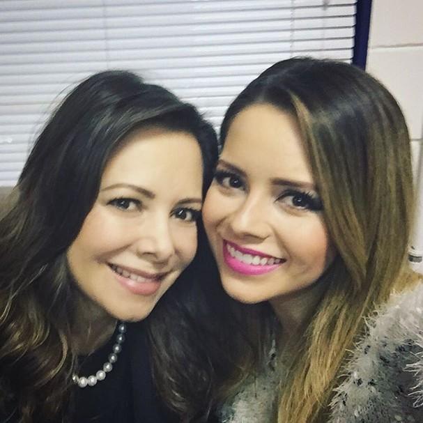 Sandy e sua mãe Noely Pereira de Lima  (Foto: Reprodução Instagram)