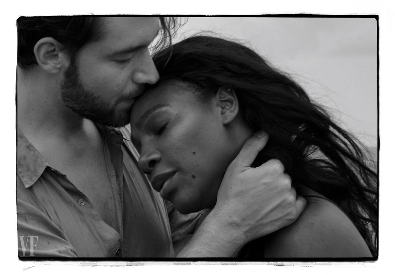 Serena Williams e o noivo (Foto: Divulgação)