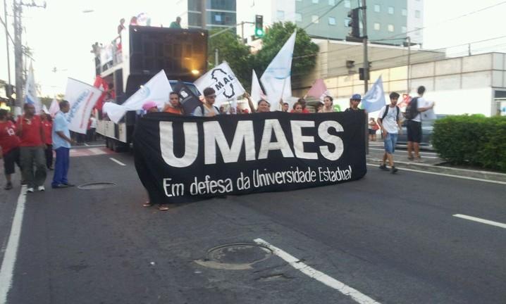 Manifestação em Vitória