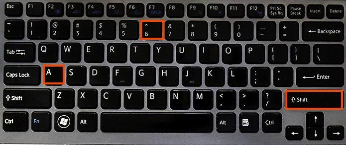 Selecione o til ou circunflexo na acentuação do teclado (Foto: Reprodução/Barbara Mannara)