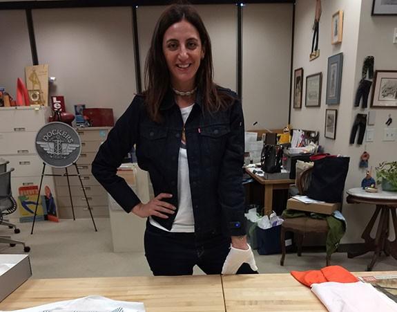 Alexandra Farah usa a nova jaqueta Levi's + Google (Foto: Divulgação)