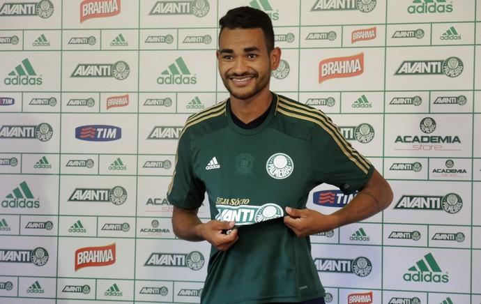 Apresentação Jackson Palmeiras (Foto: Felipe Zito)